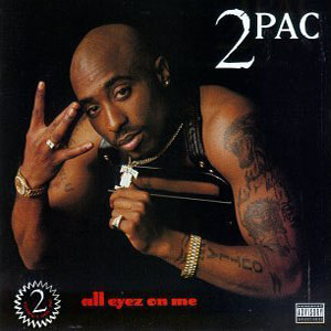 """All Eyez on Me"" was one of Tupac's later, less political works."