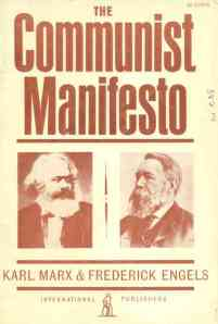 communist manifesto - cover picture