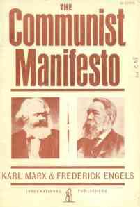 communist manifesto - cover picture
