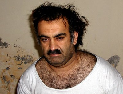 Keith Olbermann is upset that poor old Khalid Shaikh Mohammed (above) was frightened and threatened by CIA operatives