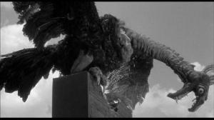 "Wish fulfillment? Creature from ""The Giant Claw"" (1957) bites chunck out of UN building"