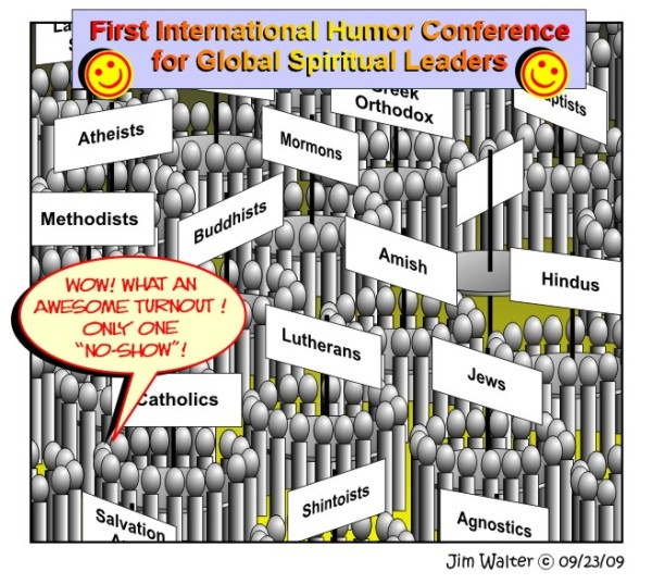 090516 - First Spiritual Humor Conference