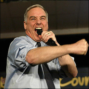 Howard Dean, that level-headed purveyor of fact.