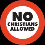 no christians