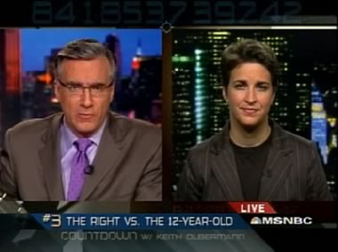 Olbermann and Maddow