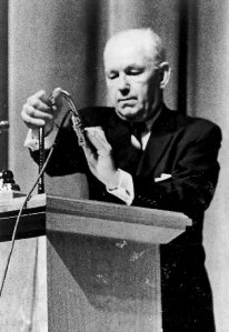Robert Welch, founder of the John Birch Society