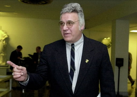 James Traficant, disgraced congressman and Jew-basher
