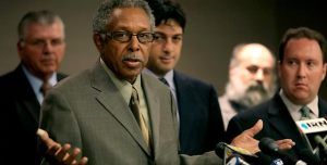 Otis McDonald, 76, who is suing the city of Chicago over its handgun ban