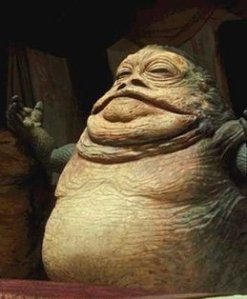 """Jabba"" is spelled with 2 Bs, Dennis."