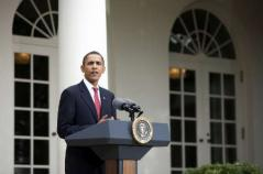 Obama on Nobel peace prize
