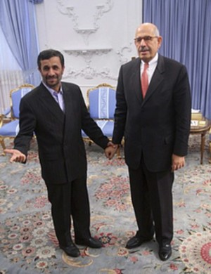 elbaradei and ahmadinejad